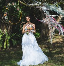 Into the Woods Dreamy Whimsical Wedding Styled shoot by adellefrances