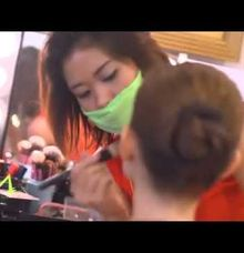 "Behind The Scene ""Estructura in Fashion Tendance 2015"" by Monika Sujono Make Up Artist"