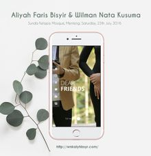 Aliyah Faris Bisyir & Wilman Nata Kusuma by OMYDIGI