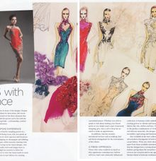 Cheongsam designer writeup by Ann Teoh Couture