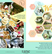 A Party Wonderland by Luxe Catering