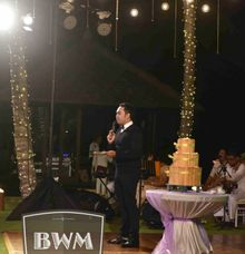 Master Ceremony MC for your wedding in Bali by Bali Wedding Music