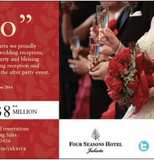 Your Wedding Day. by Four Seasons Hotel Jakarta