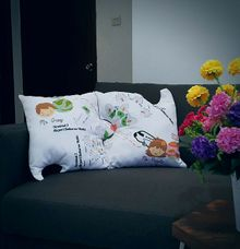 Puzzle Cushion for Gift by Kawung Living