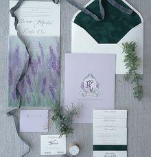 SPRINGS OF LAVENDER by BloomingDays Invitation Studio