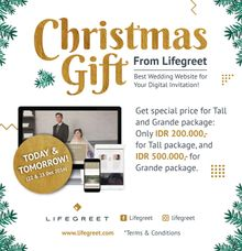 Christmas Offer by LIfegreet Online Invitation
