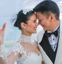 CELEBRITY Wedding Chiz and Heart by pat dy photography