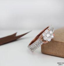 Women Diamond Ring DR001106 V&Co Jewellery by V&Co Jewellery