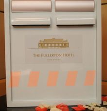 Fullerton Signature Ang Pao Box Designs by The Fullerton Hotels