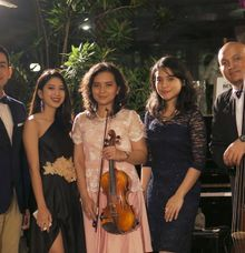 Jazz Band for The Wedding of Adi & Sasha at Plataran Dharmawangsa by La Oficio Entertainment