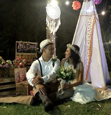 Jhonson and asti rassi wedding by AeroMAN PV