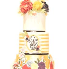 Three Tier Pop-Up Style by Ivoire Cake Design