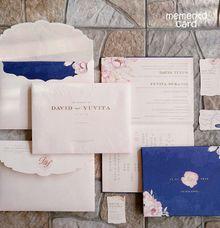 The Wedding of David & Yuvita by Memento Card