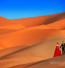 Dubai Prewedding by Edwin Tan Photography
