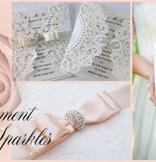 Diamante Buckles & Embellishments by PAPEROSE WEDDING SDN. BHD.