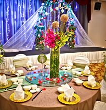 Thematic Weddings - Enchanted Garden by Hotel Re! @ Pearl's Hill