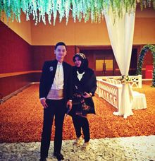 MC Wedding Reception by Chanzy Fauzi MC