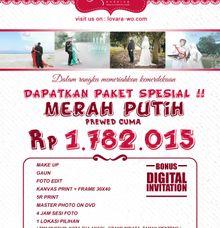 MERAH PUTIH PROMO by Lovara Wedding