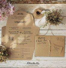 Halim & Chui Fei Wedding by Bluebelle Invitations