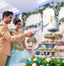 Wedding Pia Zebadiah & Nova Deno Ardian by LeSoho Cupcakes