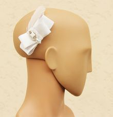 Bow Hair Accessory for Bride by Bride Of Marc