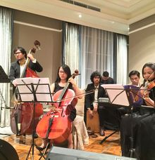 Chambers for Erry & Mira at Gran Mahakam Hotel by La Oficio Entertainment