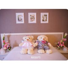 Room decoration by Rossely's Florist