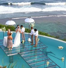 Wedding On Water by CV Bali Stage Expotama