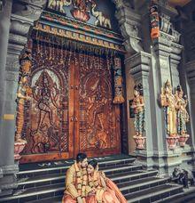 Nirmall Singh & Yogeswari by Alangkaar Bridal Studio