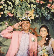 #TIKAUUSBERLABUH Nautical Wedding by GHAISANIYARA WEDDING