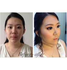 party makeup by by monicaloloo