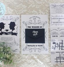 INVITATION - Yulius & Iva by The Bride and Butter