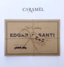 Edgar + Santi by Caramel Card
