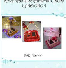 KERANJANG UANG DAN CINCIN by butikbatik.modern