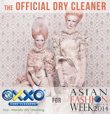 Asian Fashion Week 2014 by OXXO Care Cleaners - eco friendly dry cleaning