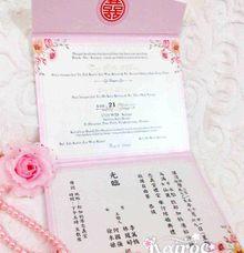 Tony & Sianly by Kairos Wedding Invitation