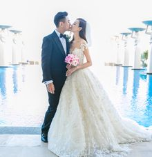 Ken Chu & Han Wen Wen by The Mulia, Mulia Resort & Villas - Nusa Dua, Bali