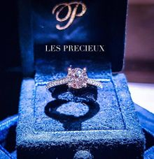 Round Brilliant Perfect Super Ideal Cut Engagement Ring by LES PRECIEUX