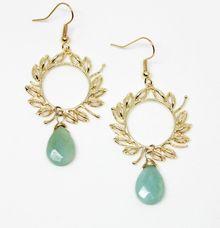 Laurel Earrings by Trinket Cove