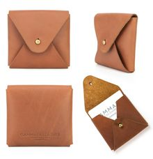Card holder by GAMMARA LEATHER SOUVENIR