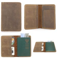 Pasport Case by GAMMARA LEATHER SOUVENIR