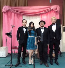 Wedding Gig at Lemhanas Building by Crossfade Production