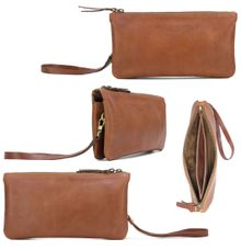 Double Pouch by GAMMARA LEATHER SOUVENIR