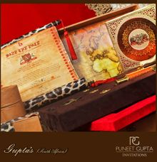 Invitation for a destination wedding in Africa by Puneet Gupta Invitations