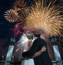 wedding fireworks by Mercy Picture Perfect