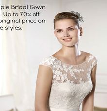 Big Brand Bridal Sale by Bluebell Bridal