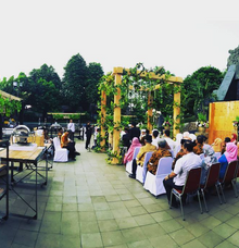 Wedding Ceremony at  Taman Mini Indonesia Indah by espoza entertainment