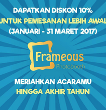 PROMO Frameous Photobooth by Frameous Photobooth