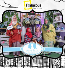 Wedding of  Fitri  & Candra by Frameous Photobooth