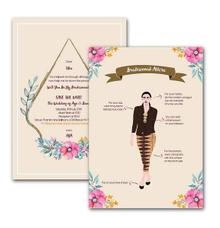 Anindya Bridesmaid Card by Tixxy Design